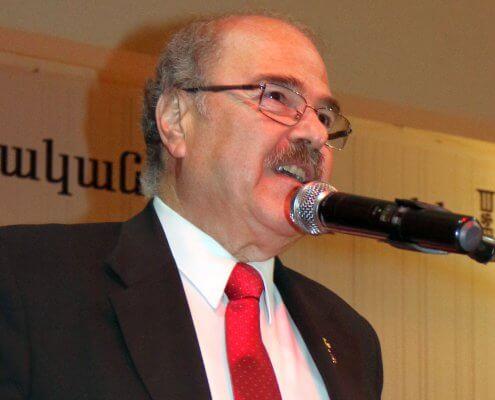 Der Präsident der armenisch-evangelischen Kirchen UNION im Libanon Pfarrer Karagoezian
