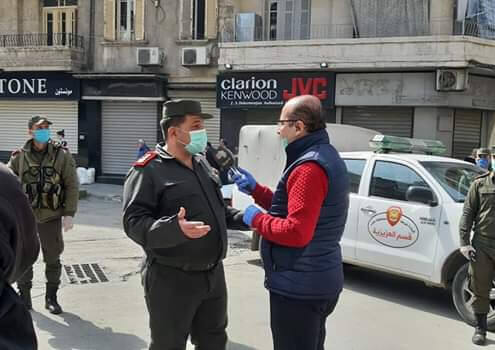 Ein Interview zur Reinigungsaktion in Aleppo